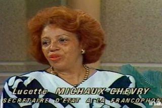 Lucette Michaux Chevry 1987