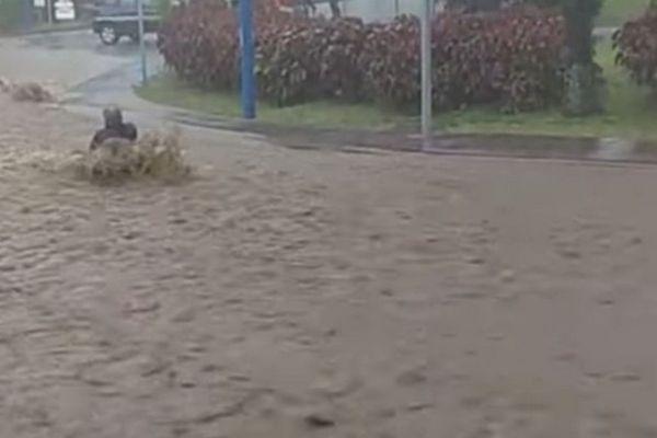 intempéries sud sauvage sauvetage gendarmes Saint-Joseph dimanche 29 août 2021