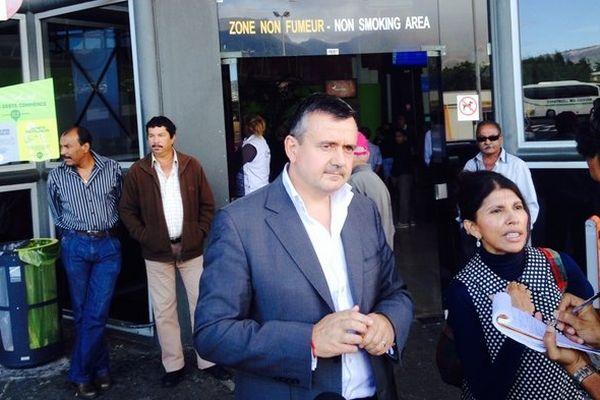 Yves Jégo, président par intérim de l'UDI, à La Réunion