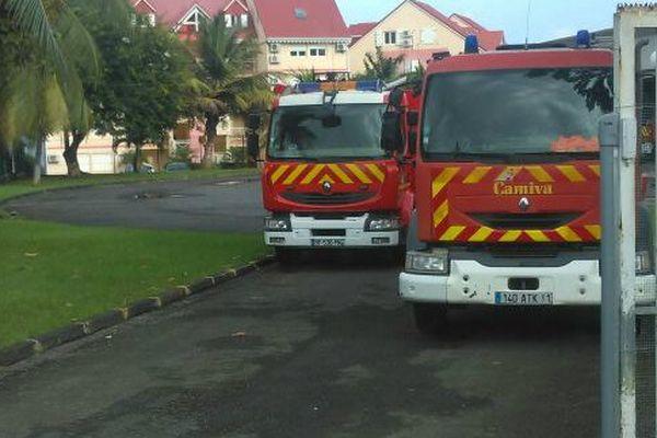 Les pompiers de Petit-Bourg sont mobilisés et veulent de meilleures conditions de travail