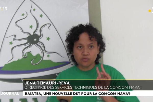 Jena Temauri Reva, nouvelle Directrice des services techniques des ISLV