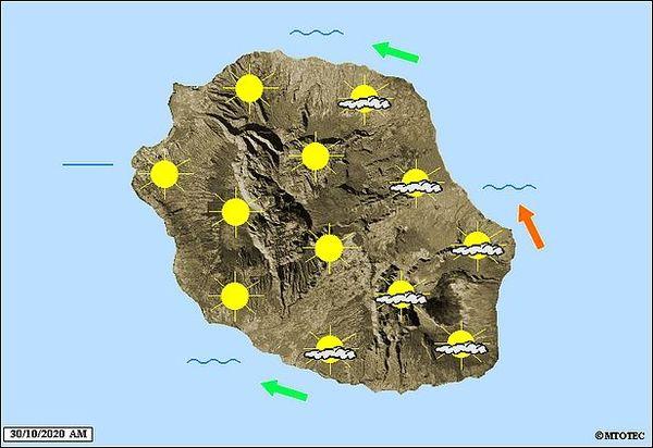 Carte météo 30 octobre 2020