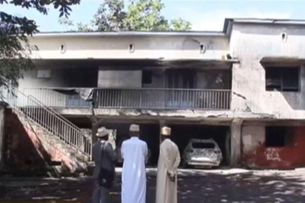 Incendie aux Comores