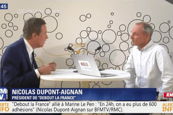 BFM Nicolas Dupont-Aignan