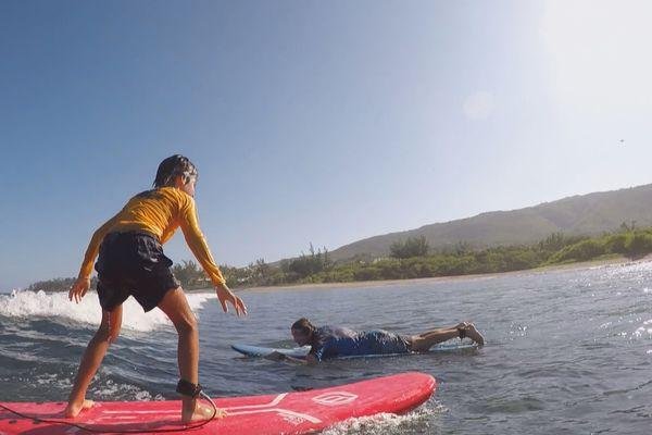 Reprise compétition surf chez les moins de 18 ans