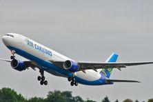 Un des avions de la compagnie Air Caraïbes