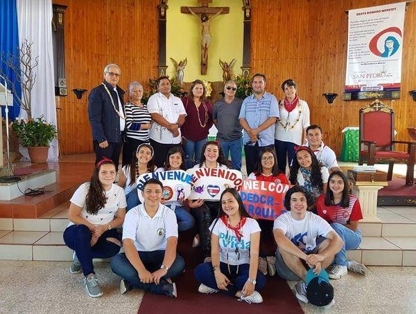 JMJ délégation de Wallis et Futuna au costa Rica
