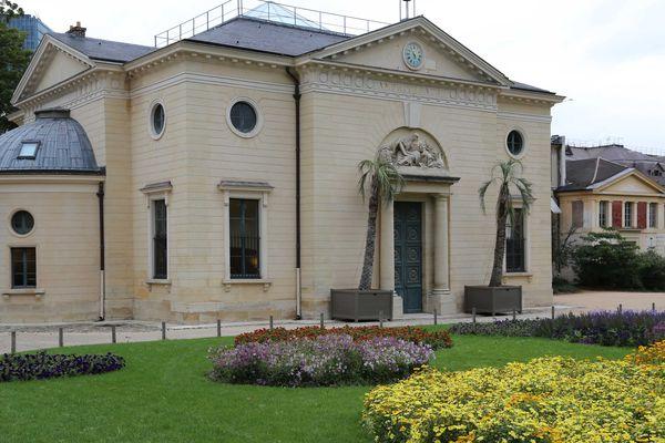Le grand amphithéâtre du Muséum national d'histoire naturelle