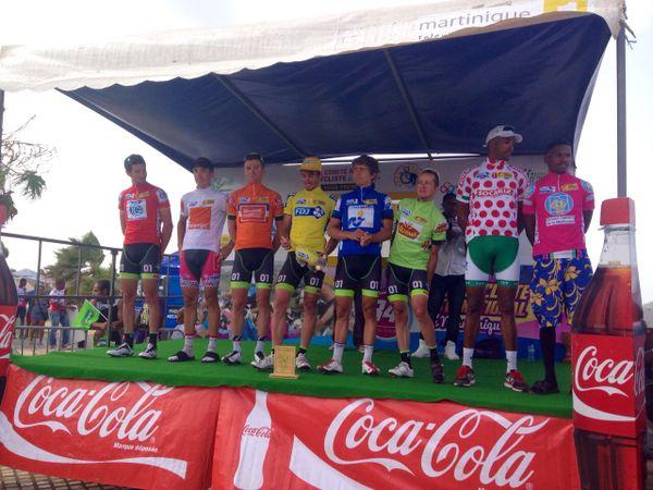 Tour cycliste Martinique ( juillet 2015)