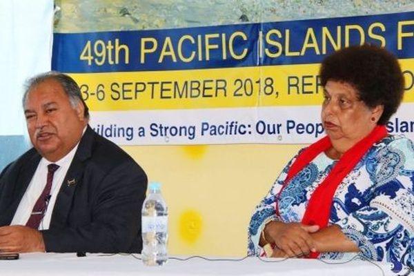 49 eme sommet des îles du pacifique