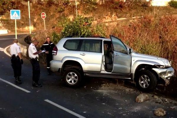 Saint-Denis : accident de voiture à La Petite Ile