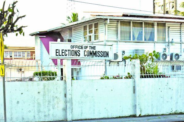 Le bureau des élections au Guyana