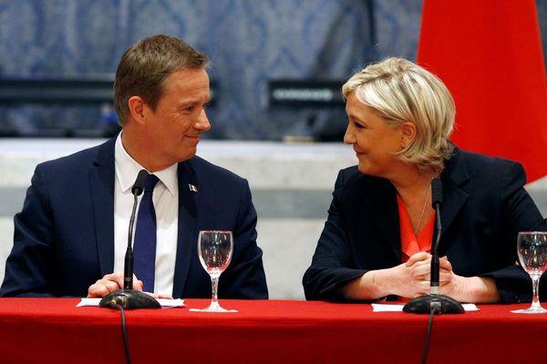 Dupont Aignan et Le Pen