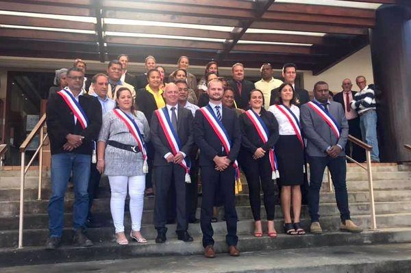 La nouvelle équipe municipale de La Foa, 3 juillet 2020