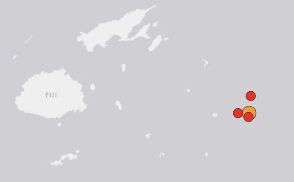 Tremblements de terre du 19 août 2018 à Fidji