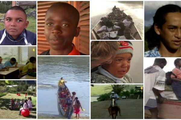 De la Guyane à la Polynésie, la rentrée des classes à cheval ou en pirogue