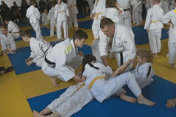 Judo challenge technique