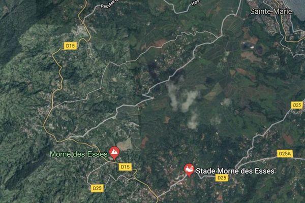 google map morne des esses