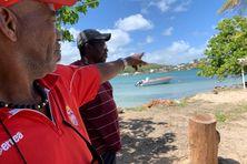 Le recul de la mer à Tartane est au coeur des discussions.