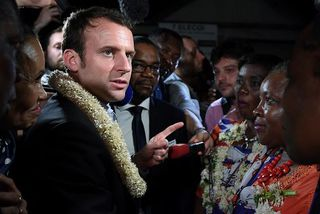 Macron Mayotte 2017