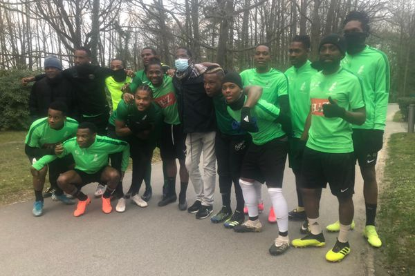 Joueurs du Club Franciscain à Clairefontaine