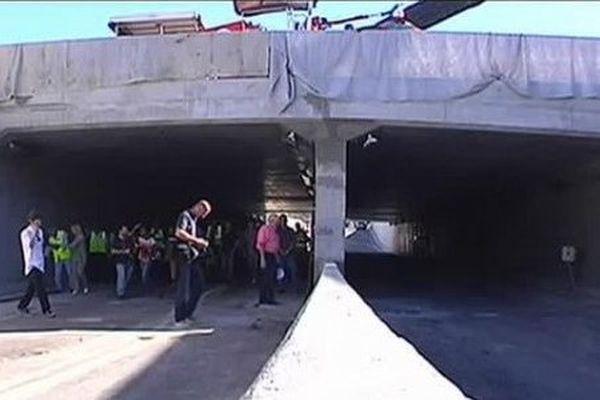 Le 08 août  ouverture du tunnel de Punaauia