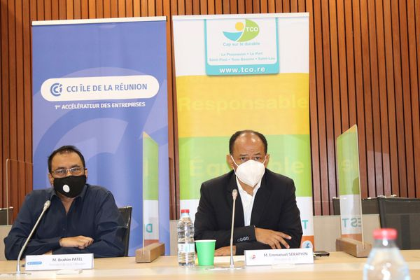 Ibrahim Patel CCIR et Emmanuel Séraphin TCO