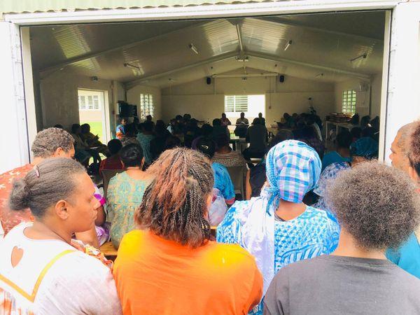 Kouaoua, ville morte, réunion du 23 février au centre administratif
