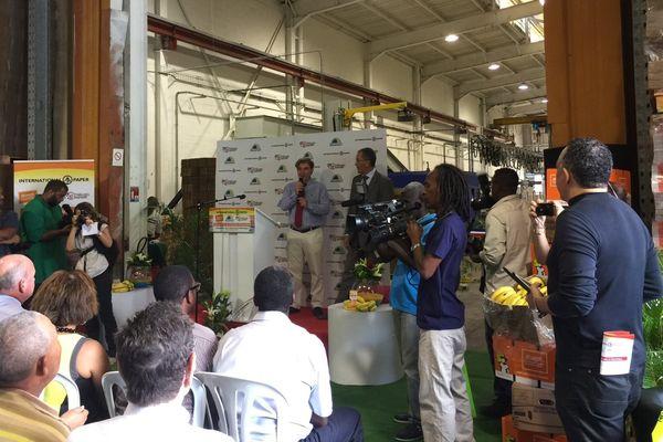 cartonnerie de Martinique inaugurée le 24 mars 2015