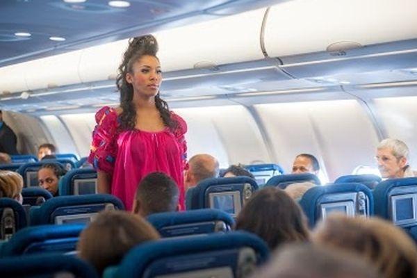 Défilé sur vol Air-Caraïbes