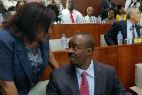 Ary Chalus, le président du Conseil régional de la Guadeloupe