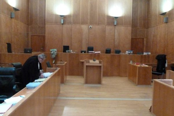 Salle audience tribunal Fort de France