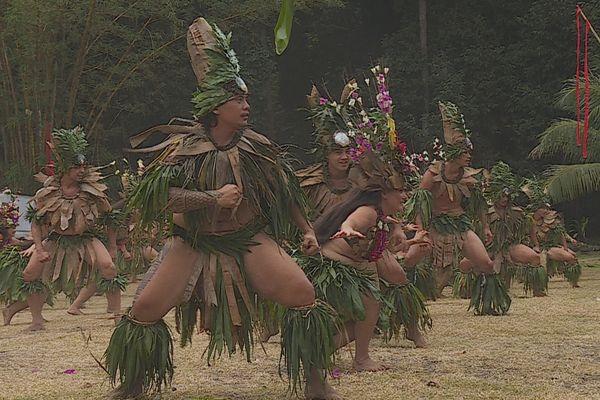Festival Tahiti Tia mai à Paea / Marae