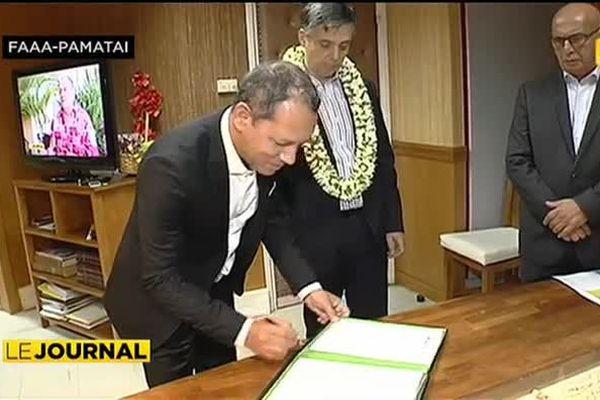 Saison cyclonique : Polynésie 1ère et l'Etat signent une convention de partenariat