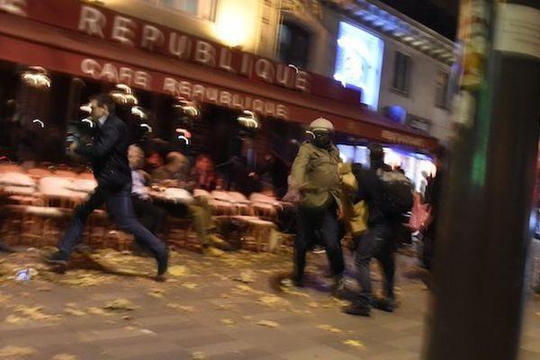 attentats Paris Panique