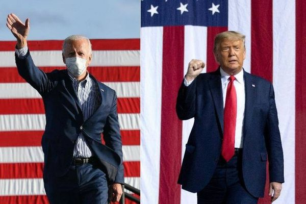 Donald Trump et Joe Biden