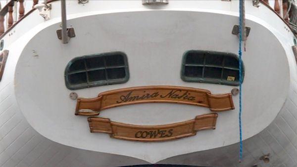 Capture plaque du voilier Amira Natia qui transportait 578 kilos de cocaïne, janvier 2018