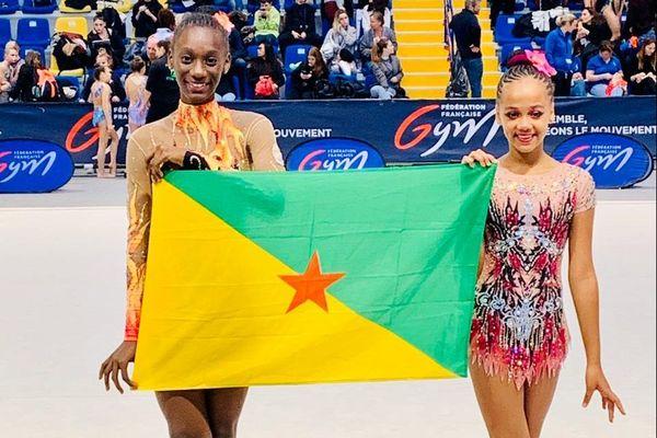 Fatou-Maelly Jabbi et Amadea Arnaud