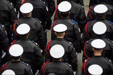 Fin de formation de gardiens la paix de la police nationale
