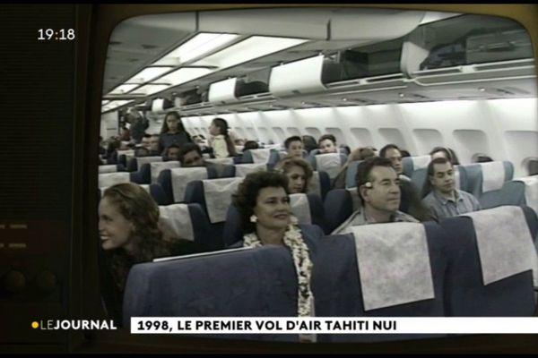 1998, le premier vol d'Air Tahiti Nui