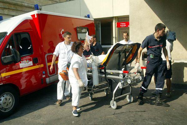 Urgences hôpital de Pellegrin à Bordeaux