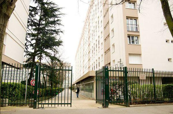 résidence Aimé Césaire paris 13è