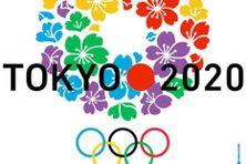 Logo des Jeux olympiques d'été 2020, à Tokyo