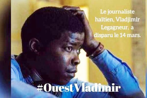 Haïti : Vladjimir Legagneur