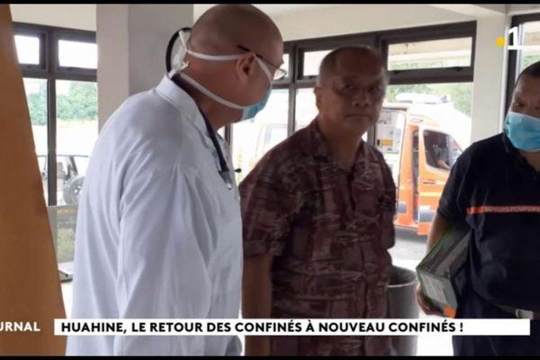 Bloqués à Tahiti, ils sont désormais confinés à Huahine