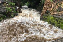 Une ravine en crue à Saint-Philippe (photo d'illustration).