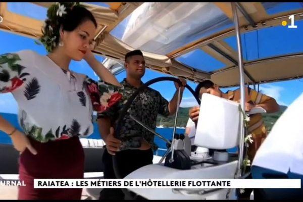Neuf jeunes formés au métier d'hôte d'accueil en milieu nautique