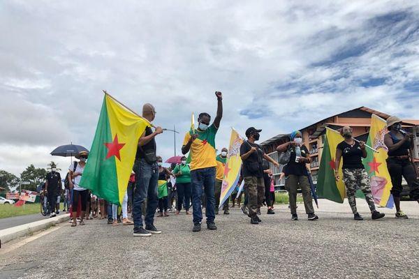 Une marche contre l'insécurité à Kourou