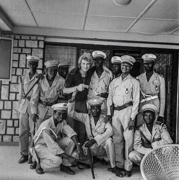 Johnny Hallyday  à Niamey