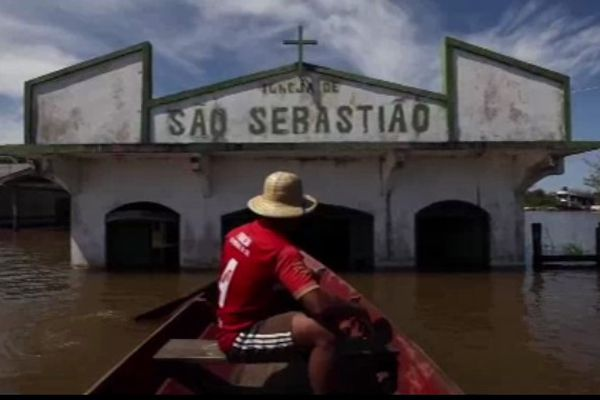 Inondations dans l'Amazonas